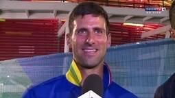 Djokovic fala em entrevista exclusiva ao SporTV