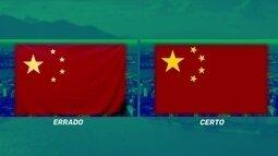 Comitê Rio 2016 pede desculpas a China por bandeira errada durante jogos