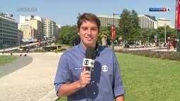 Felipe Diniz com repercucao do futebol olímpico, direto de Portugal