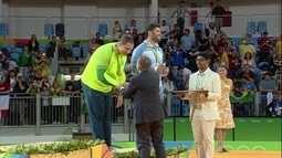 Rafael Silva, o Baby, ganha a terceira medalha para o judô, a segunda de bronze