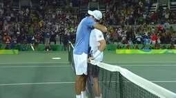Melhores momentos: Del Potro x Andy Murray pela final da Rio 2016