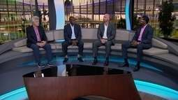 Carl Lewis e Mark Spitz comentam o ouro de Thiago Braz no salto com vara