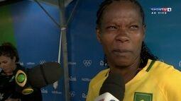 Emocionada, Formiga fala da sua última Olimpíada