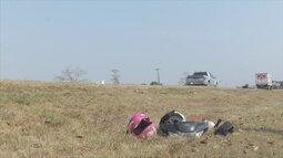 Pai e filha morrem em acidente na BR-364, em Ariquemes