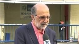 Pacientes do Hospital Getúlio Vargas estão sem comida, denunciam parentes