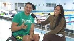 Em sua quinta participação em Paralimpíadas, Clodoaldo Silva convida torcida brasileira