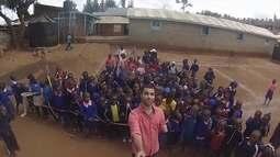 Plácido Berci lembra cobertura de esportes no Quênia