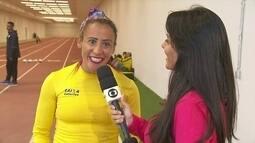 Terezinha Guilhermina, atleta paralímpica, vai ter dois guias na Rio 2016