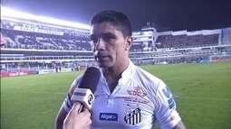 Renato lamenta gol sofrido no fim e diz que Santos poderia ter feito o quarto