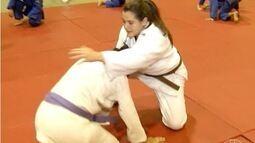 Jovem promessa do judô treina muito e sonha com as próximas Olimpíadas