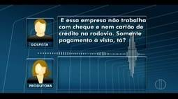 Estelionatário tenta aplicar golpe em produtora do RJ Inter TV 2ª Edição em Nova Friburgo
