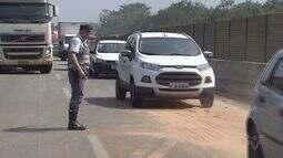 Acidente na rodovia Anchieta causa transtornos para motoristas