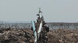Bombas e tubulações são utilizadas para conseguir água no norte do estado