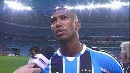 """""""Sabíamos que seria um jogo difícil"""" diz Wallace meia do Grêmio"""