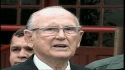 Confira como foi a manhã do candidato Sanchotene Felice em Uruguaiana, RS