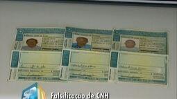 Polícia Civil prende homens que vendiam CNHs falsas