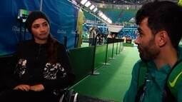 Ponto de Encontro: Lais Souza acompanha partida de rúgbi em cadeira de rodas