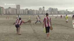 Torneio Popular A Tribuna de Tamboréu é realizado em Santos
