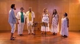 Cinco vozes e belas canções do folclore brasileiro compõem o Grupo Canta Voz