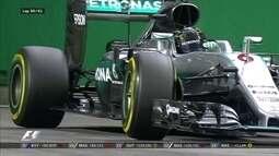 Daniel Ricciardo se aproxima, mas Nico Rosberg assegura vitória em Cingapura