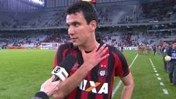 """Autor do gol da vitória do Atlético-PR, Pablo diz: """"Espero fazer muitos mais"""""""