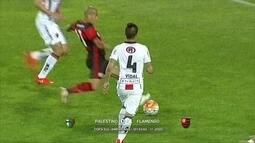 Mansur comenta vitória do Flamengo sobre o Palestino pela Copa Sul-Americana