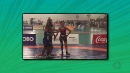 Atletas de MT disputam Jogos Escolares e indígena conquista medalha de ouro