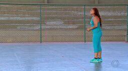Cláudia Amorim fala sobre participação histórica do goalball na Rio 2016