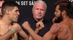 Vicente Luque e Hector Urbina passam pela pesagem do UFC: Brasília
