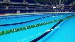 Parque Olímpico da Barra da Tijuca recebe evento de natação