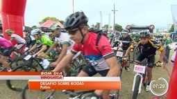Potim realiza corrida de mountain bike
