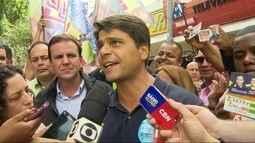 Pedro Paulo(PMDB) faz campanha em Campo Grande