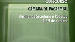 Concursos são oferecidos ao Oeste Paulista