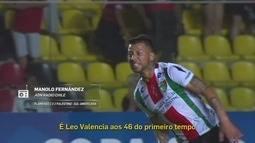 Redação AM: Manolo Fernández narra o segundo gol do Palestino contra o Flamengo
