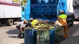 Agentes de limpeza retornam às atividades em Aracaju
