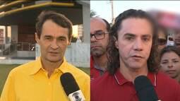 Candidatos à Prefeitura de Campina Grande falam de expectativa para debate da TV Paraíba