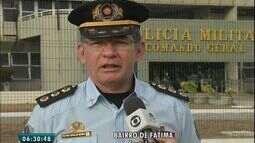 Esquema de segurança é montado para as eleições dete domingo (2)