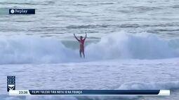 Giro Internacional: Felipe Toledo avança no Mundial de Surfe na França
