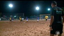 Craque se destaca em torneio de Beach Soccer em Teresina
