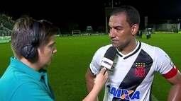 """Rodrigo, sobre momento do Vasco: """"Clima ruim acontece quando não tem resultado"""""""
