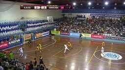 Os gols de AABB 4 x 4 Sorocaba pela Liga Paulista de futsal