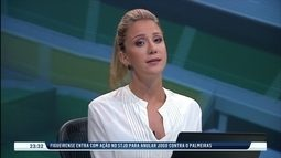 Figueirense entra com ação para tentar anular jogo contra o Palmeiras