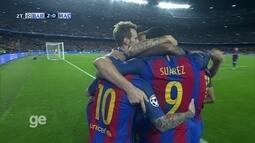 Os gols de Barcelona 4 x 0 Manchester City pela 3º fase da Liga dos Campeões