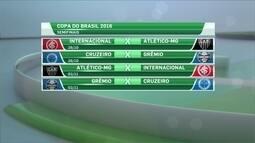 Mandos de campo das semifinais da Copa do Brasil são definidos