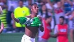 Gol de Iago, do Coritiba, é eleito a pintura da rodada