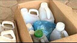 Embalagens de agrotóxicos são recolhidas em Marilândia, Noroeste do ES