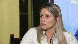 Namorada de promotor assassinado desabafa sobre crime