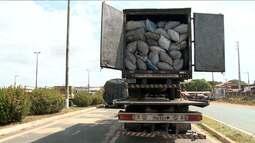 Caminhão baú é apreendido com carga ilegal por PRF no Maranhão