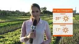 Confira a previsão do tempo para a semana em Vitória da Conquista
