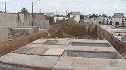 Moradores de Brodowski, SP, criticam obras de ampliação no cemitério